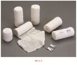 High Quality Bleached Alastic Crepe Bandage with CE &ISO pictures & photos