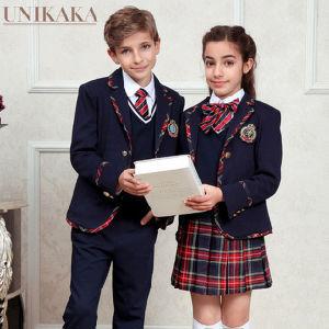 Custom Casual School Blazer Uniforms for Primary School pictures & photos