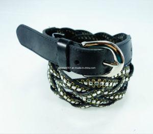 Fashion Lady Waist Belt with Studs (EU3060-28)
