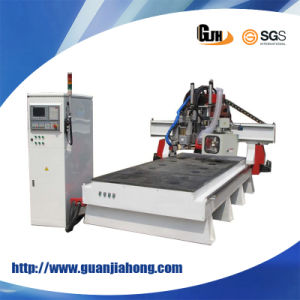 Syntec Control, Turnable Auto Tool Changer, Hsd Spindle, Atc CNC Router Machine pictures & photos