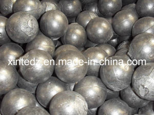 High Hardness, No Breakage Casting Grinding Ball (dia110mm) pictures & photos