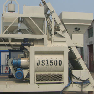 with Twin Shaft Concrete Mixer (Js1500) pictures & photos