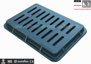 En124 Ductile SMC Composite Gully Grating/ Square Drain Grating Cover pictures & photos