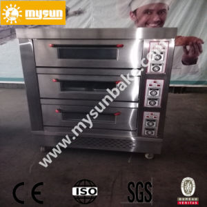 3 Layers Customized Stainless Steel Deck Bakery Oven (OEM Factroy) pictures & photos