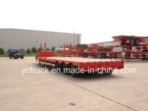 Three Axle Cargo Flatbed Trailer
