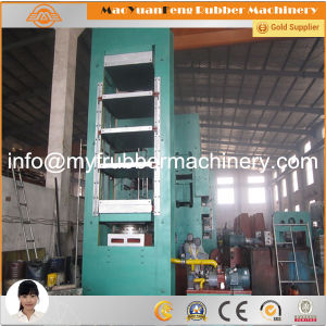 Automatic Rubber Frame Curing Press Machine with BV, Ce, SGS Certification pictures & photos