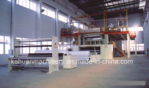 1.6m Double S Type PP Non Woven Fabric Making Machine pictures & photos