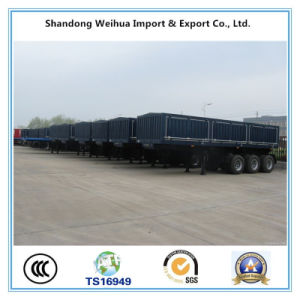 Tri-Axle Van Type Trailer Container Semi Truck Trailer From Manufacture pictures & photos