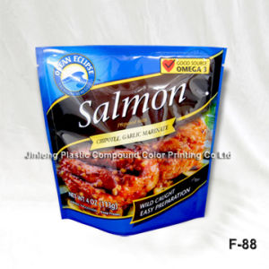Sand-up and Zipper Plastic Packaging Bags pictures & photos