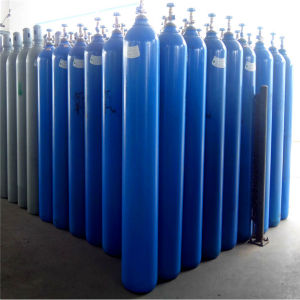 30L Oxygen High Pressure Seamless Steel Cylinder pictures & photos