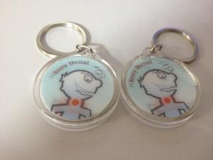Fashion Charm Lenticular 3D Acrylic Keychain pictures & photos
