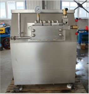 Food Sanitary 5000L/H Dairy Milk Homogenization Machine pictures & photos