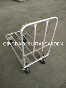 Heavy Duty High Quality Qingdao Made Platform Hand Truck (pH197) pictures & photos