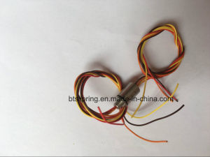 Od 8mm 2~6 Wires Miniature Capsule Slip Ring with ISO/Ce/FCC/RoHS pictures & photos