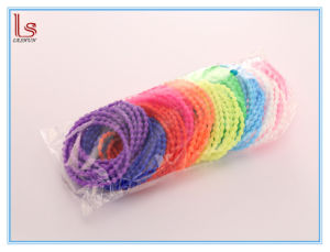 New Silicone Rubber Luminous Bracelet Candy Color Hair Rope Bands pictures & photos