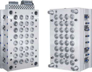 Plastic Injection Mould for Plastic Covers (YJ-M052)