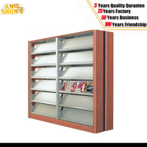 Steel Magazine Shelves, Library Shelves Exported to Dubai pictures & photos
