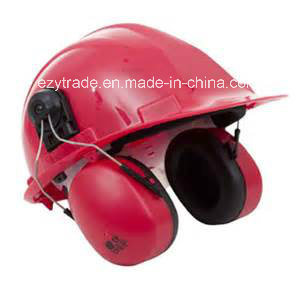 Best Quality Construction Safety Helmets with Earmuff Ce Passed pictures & photos