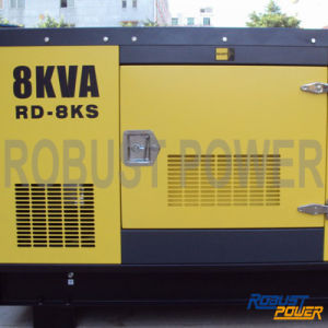 Waterproof Soundproof Diesel Generator (RD-8kVA) pictures & photos