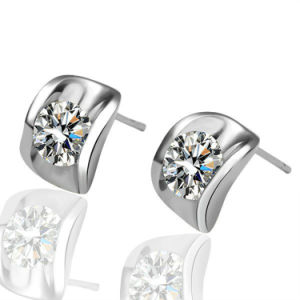 Sterling Silver Crystal Stud Earring pictures & photos