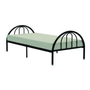 Steel Single Bed/ Mordern Metal Bed/ Children Colored Single Bed pictures & photos
