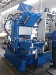 China Top Quality Plate Vulcanizing Press with Two Station pictures & photos