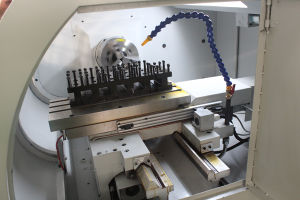 China Metal Cutting Lathe Ck6432 Cheap CNC Lathe Machine pictures & photos