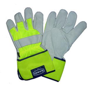 Cow Grain Work Glove, Outside Glove, Ce Glove, Safety Glove
