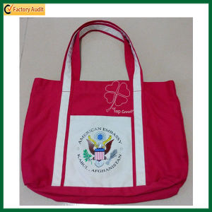 High Quality Ladies Canvas Tote Bag (TP-TB138) pictures & photos