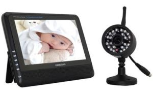 Boust 4CH Camera Digital Baby Monitor with 7 Inch DVR LCD & Night Vision Camera Bst-S8904