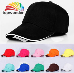 Custom Logo Sanwitch Promotional Baseball Cap in Various Size, Material and Design pictures & photos