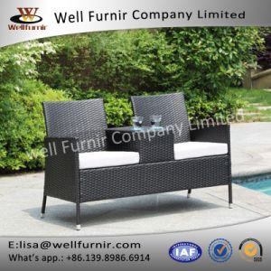 Well Furnir Seaside Settee with Armest Table WF-17019 pictures & photos