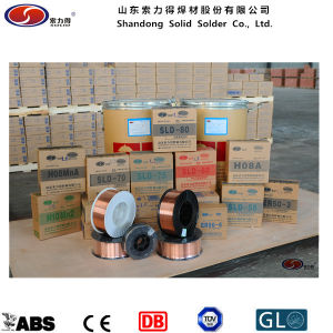 Low Carbon Steel Low Alloy Steel Welding Wire Er70s-6 pictures & photos