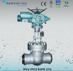Electric Butt Welding Gate Valve pictures & photos