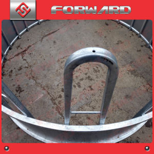 Hot Galvanized Livestock Animal Cattle Horse Bale Hay Feeder pictures & photos