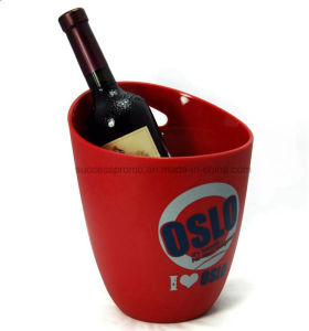 Eco-Friendly Feature Corona Plastic Wine Ice Buckets for Party pictures & photos