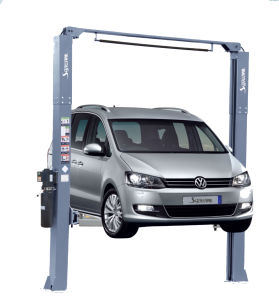 Deluxe Gantry Two Car Lift with Ce Certification