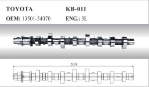 Camshaft 13501-54070 for Toyota pictures & photos