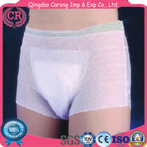 Ladies Plastic Aprons Disposable Medical Products Medical Disposable Underwear pictures & photos