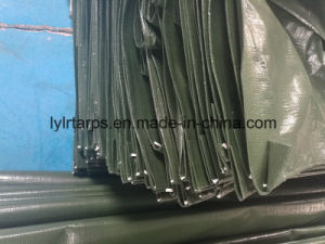 Dark Green PE Tarpaulin Cover pictures & photos