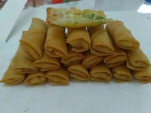 Salt Tsing Tao Vegetable Frozen 40g/piece Spring Rolls pictures & photos