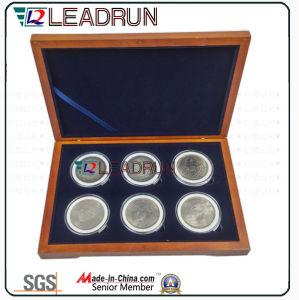 Badge Collection Case Medal Gift Souvenir Commemorative Coin Box EVA Insert Pack Box (D10) pictures & photos