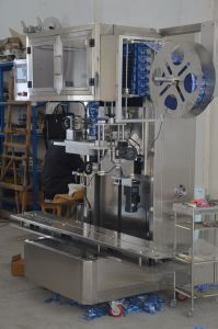 Full Automatic Barreled Water Bottle Sleeve Label Machine pictures & photos