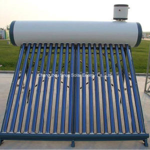 Vacuum Tube Solar Water Heater with Assistant Tank pictures & photos