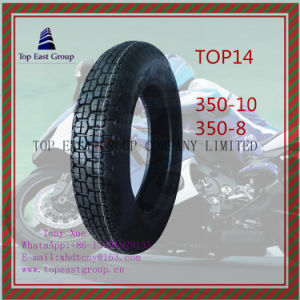 Nylon 6pr Motorcycle Tire with Size 350-10, 350-8 pictures & photos