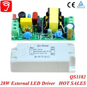 28W Singel Voltage Isolated External LED Driver for Panel Light with Ce TUV QS1182 pictures & photos