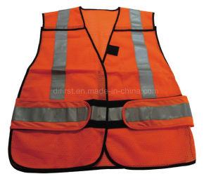 Traffic Hi Visibility Reflective Vest (DFV1077) pictures & photos