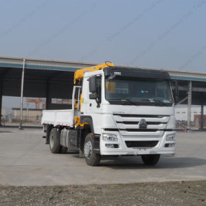 Crane Truck Sino HOWO 4X2 Truck Mounted Crane pictures & photos