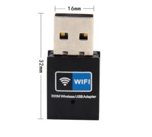 High Quality 802.11b/G/N 300Mbps Mini USB WiFi Adapter pictures & photos