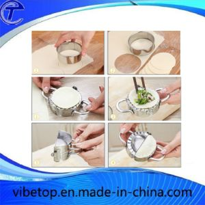 Stainless Steel Manual Dumpling Skin Kitchen Tool pictures & photos
